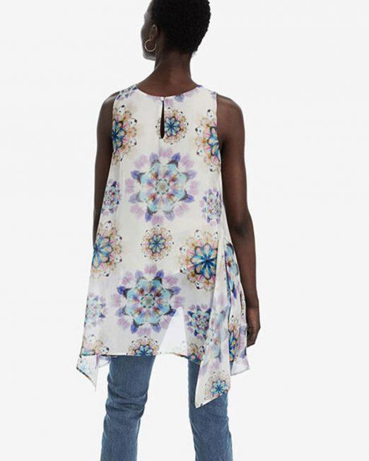 DESIGUAL KALEIDOSCOPE PRINT BLOUSE 3 522x652 Womens Clothing & Fashion