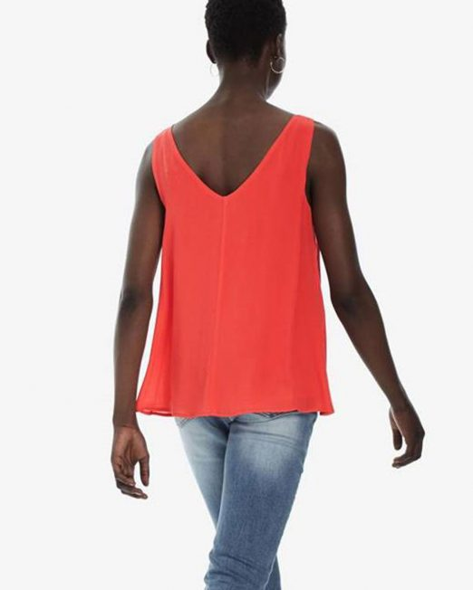 DESIGUAL SLEEVELESS BLOUSE 6 522x652 Womens Clothing & Fashion