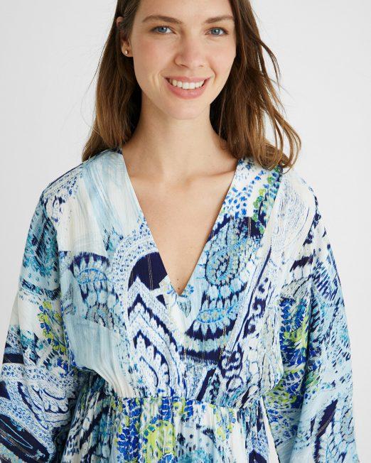 Desigual print dress  522x652 Womens Clothing & Fashion