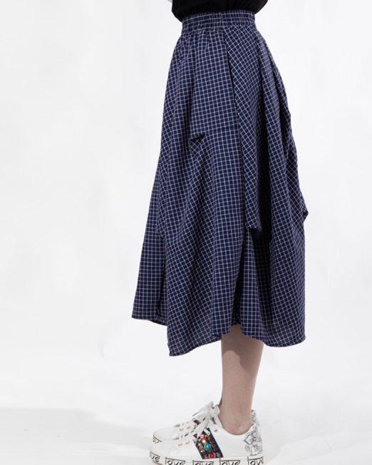 PASSION 1 BY MELANI CHECK PRINT MEDI SKIRT 2 522x652 Womens Clothing & Fashion