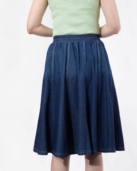 PASSION 1 BY MELANI DENIM SKIRT IN MID WASH 1 522x652 Womens Clothing & Fashion