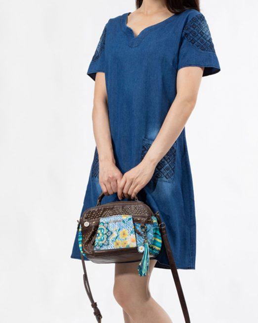 PASSION 1 BY MELANI EMBROIDERED DENIM DRESS 1 522x652 Womens Clothing & Fashion