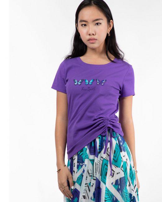 MELANI BUTTERFLIES PRINT TOP3 522x652 Womens Clothing & Fashion