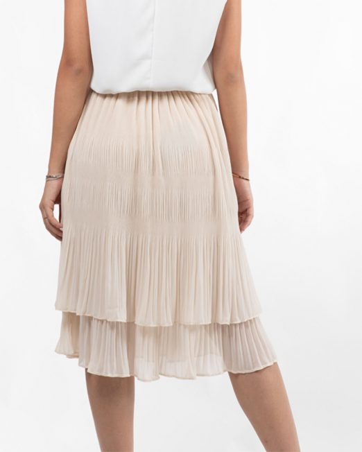 MELANI CHIFFON PLEATED SKIRT 522x652 Womens Clothing & Fashion