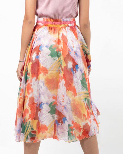 MELANI COLORFUL PRINT MEDI SKIRT3 522x652 Womens Clothing & Fashion