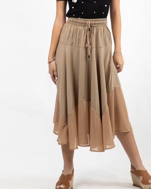 MELANI ELASTICATED WAIST SKIRT 522x652 Womens Clothing & Fashion