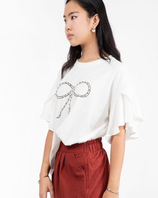 MELANI FLARE SLEEVE TOP 3 522x652 Womens Clothing & Fashion