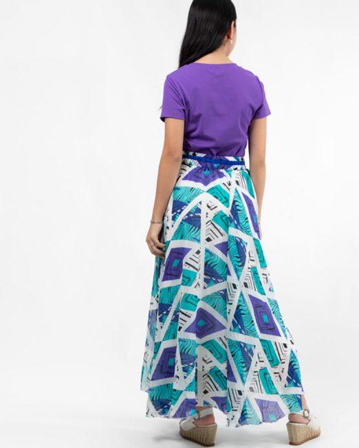 MELANI GEOMETRIC PRINT MAXI SKIRT3 522x652 Womens Clothing & Fashion