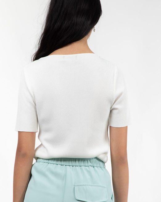 MELANI RHINESTONE EMBELLISHMENT NECK TOP 2 522x652 Womens Clothing & Fashion