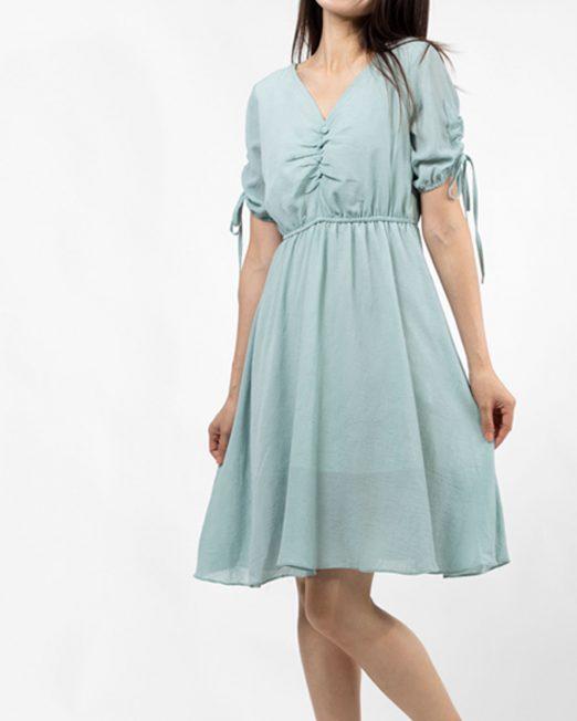 MELANI TIE SLEEVES DRESS 1 1 522x652 Womens Clothing & Fashion