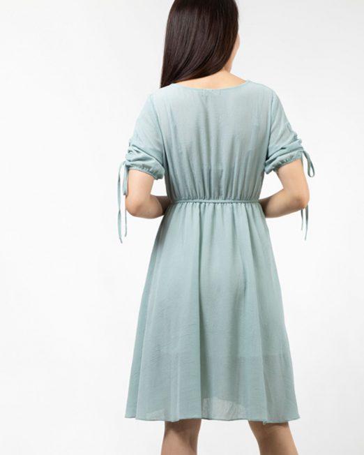 MELANI TIE SLEEVES DRESS 3 1 522x652 Womens Clothing & Fashion