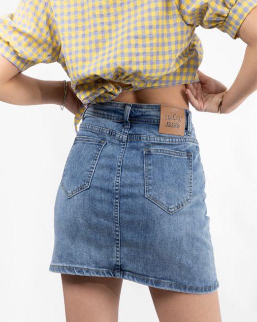 MLN JEANS MINI DENIM SKIRT 522x652 Womens Clothing & Fashion