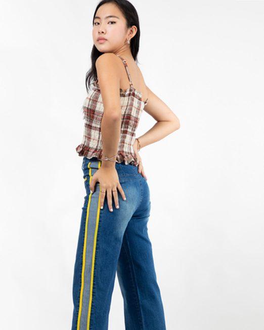 PASSION 1 BY MELANI CHECKED SMOCK TOP4 522x652 Womens Clothing & Fashion