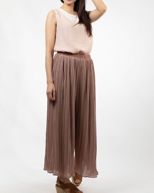 MELANI PLEATED CHIFFON WIDE LEG PANTS 3 522x652 Womens Clothing & Fashion